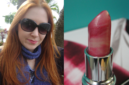 Batom Rosa Retro Hydraseduction da Avon