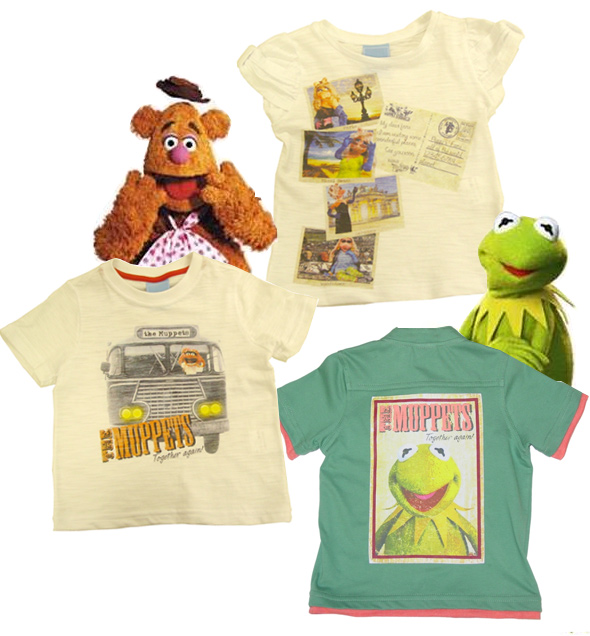 Camisetas dos Muppets
